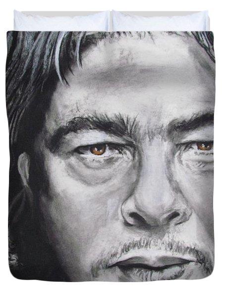 Benicio Del Toro Duvet Cover