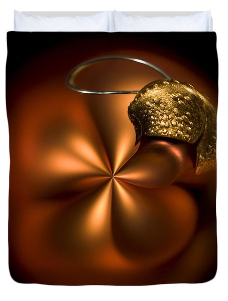 Bent Bauble Duvet Cover by Anne Gilbert