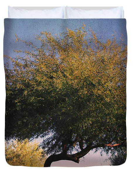 Bent But Not Broken Duvet Cover by Laurie Search