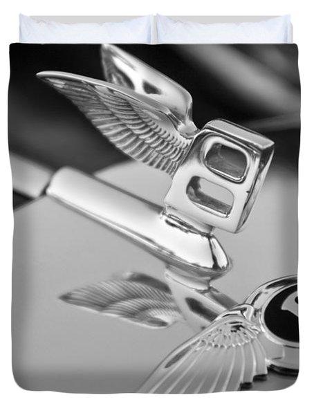 Bentley Hood Ornament 5 Duvet Cover by Jill Reger