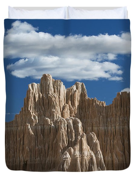 Bentonite Clay Formations Cathedral Duvet Cover