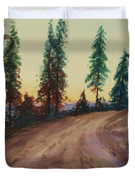 Bergebo Forest Duvet Cover by Martin Howard