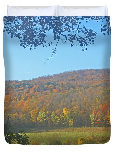 Berkshires Colors  Duvet Cover by Todd Breitling