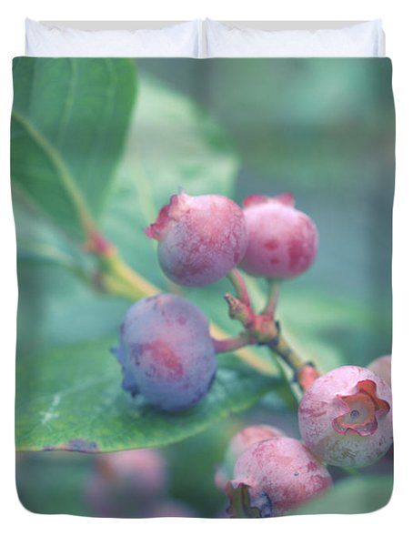 Berries For You Duvet Cover by Rachel Mirror