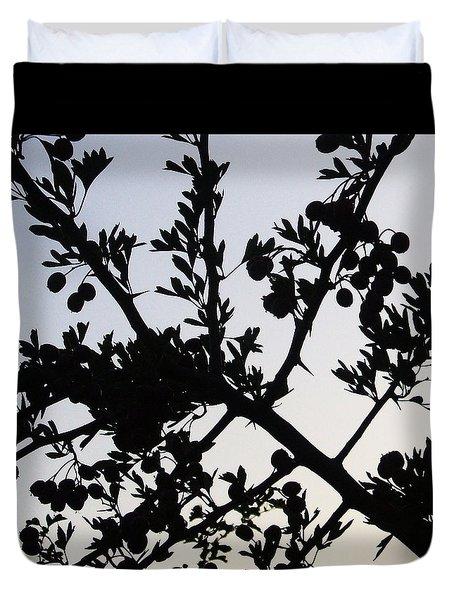 Berry Bush Duvet Cover