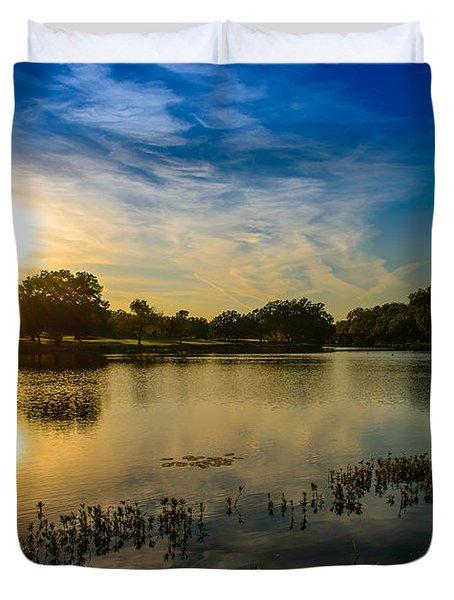 Berry Creek Pond Duvet Cover