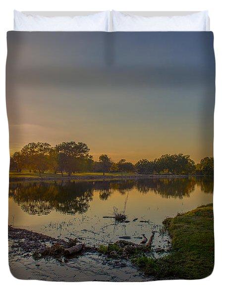 Berry Creek Sun Set Duvet Cover