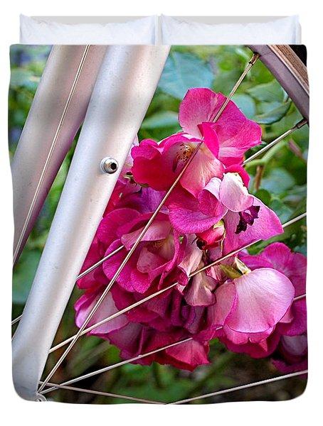 Bespoke Flower Arrangement Duvet Cover