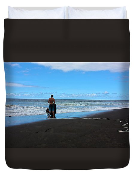 Best Friends Boogie Duvet Cover by Venetia Featherstone-Witty