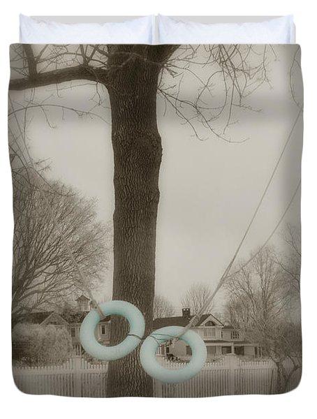 Best Friends Duvet Cover by Joann Vitali
