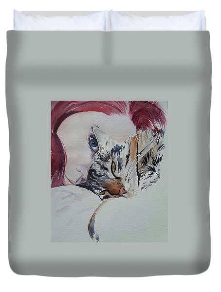 Best Friends Duvet Cover