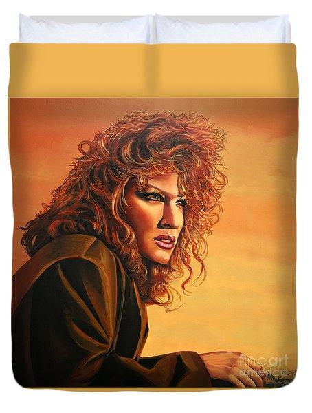 Bette Midler Duvet Cover