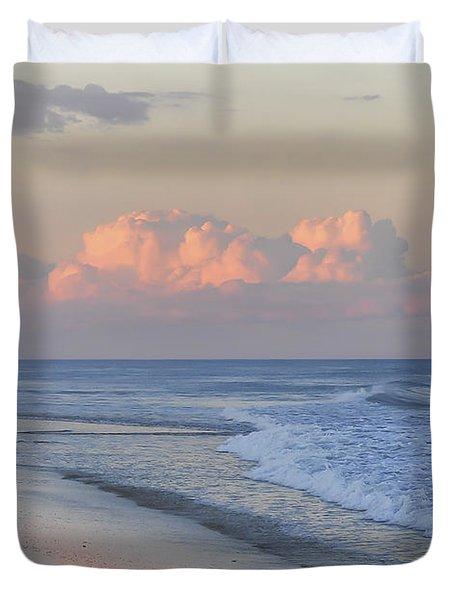 Better Days Ahead Seaside Heights Nj Duvet Cover