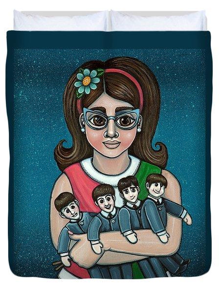 Betty Jeans Beatles Duvet Cover