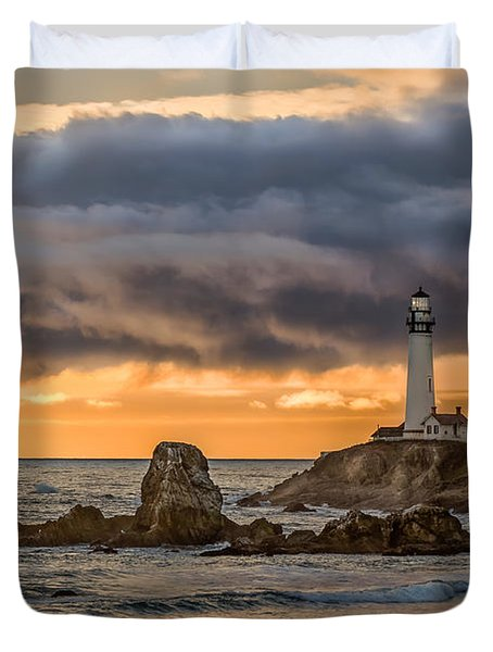 Between Storms Duvet Cover