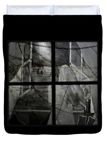 Between The Frames Duvet Cover by Barbara St Jean