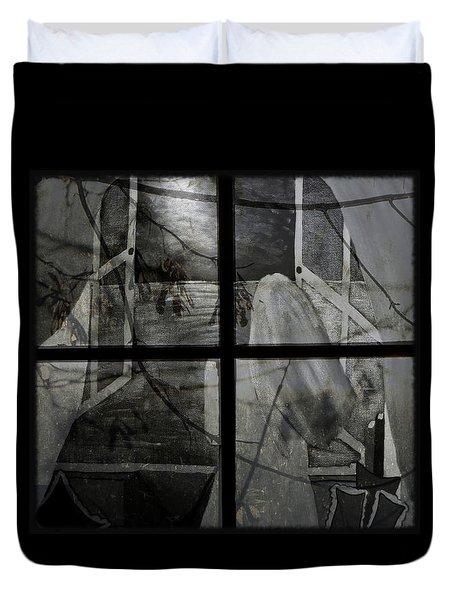 Between The Frames Duvet Cover