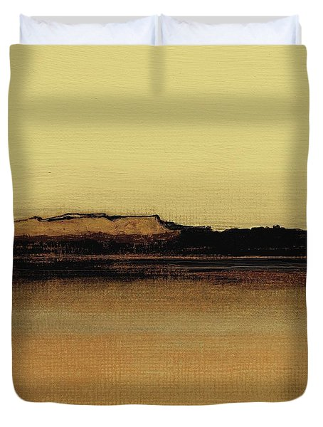 Between The Woods And Frozen Lake   Number Five Duvet Cover