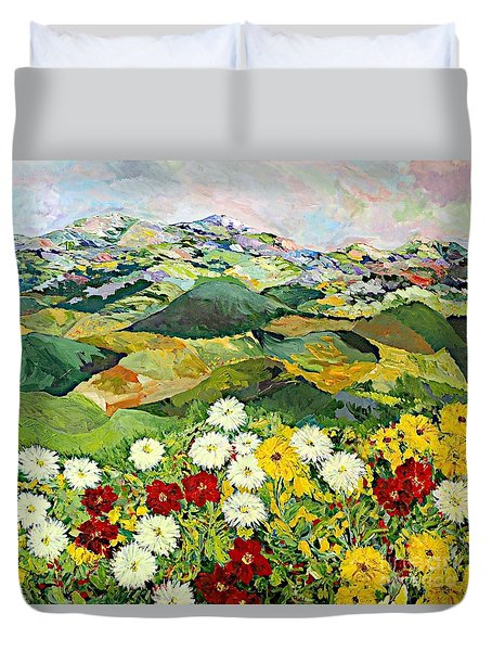 Bewitching Twilight Duvet Cover by Allan P Friedlander