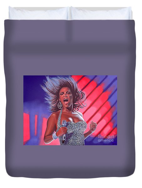 Beyonce Duvet Cover by Paul Meijering