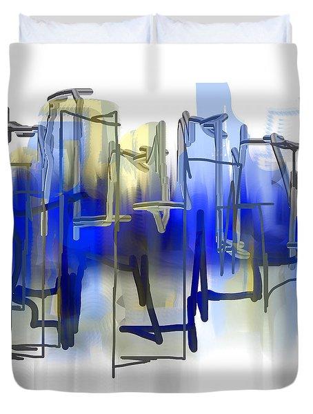 Beyond Blue Duvet Cover