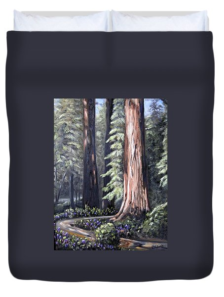 Beyond The Path Duvet Cover