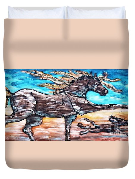 Bhound To Get There Duvet Cover