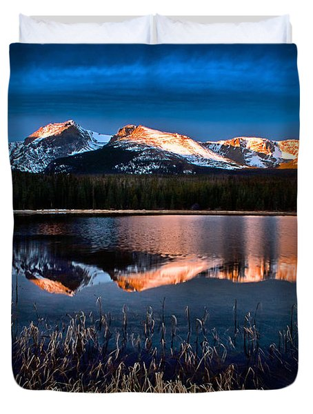 Bierstadt Sunrise Duvet Cover