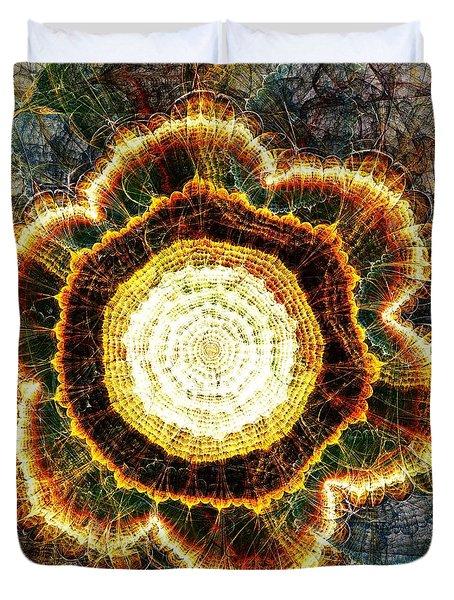Big Bang Duvet Cover by Anastasiya Malakhova