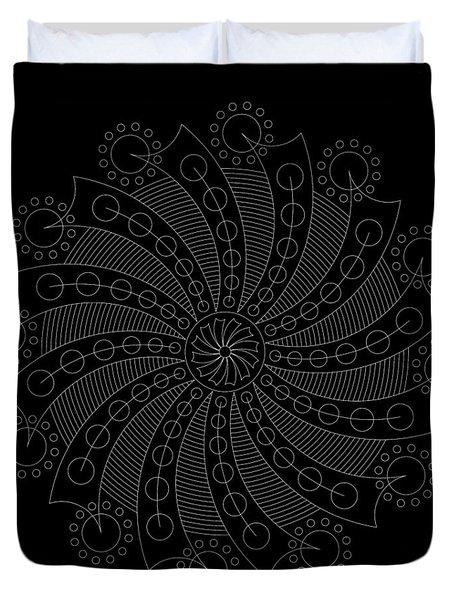 Big Bang Inverse Duvet Cover