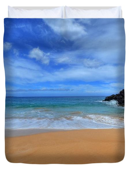 Big Beach Maui Duvet Cover
