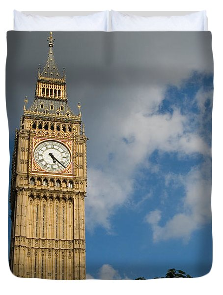Duvet Cover featuring the photograph Big Ben by Jeremy Voisey