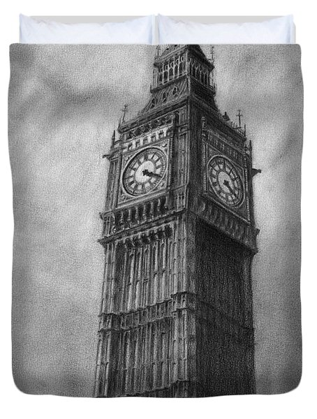 Big Ben London Duvet Cover