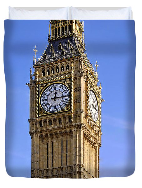 Duvet Cover featuring the photograph Big Ben by Stephen Anderson