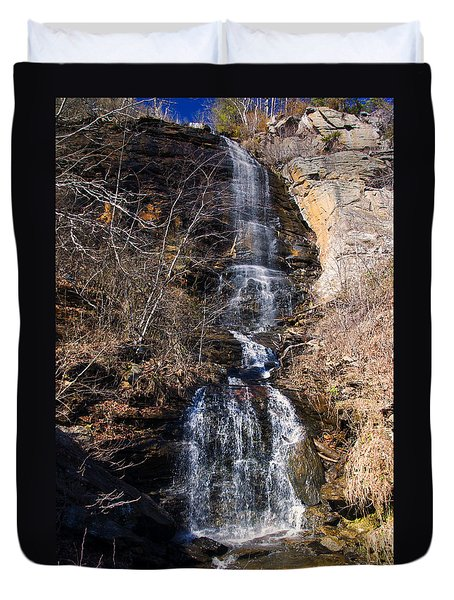 Big Bradley Falls 2 Duvet Cover by Chris Flees