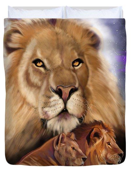 Third In The Big Cat Series - Lion Duvet Cover