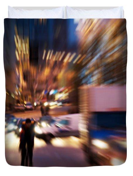 Big City Life Duvet Cover