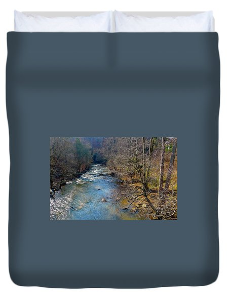 Big Creek Duvet Cover