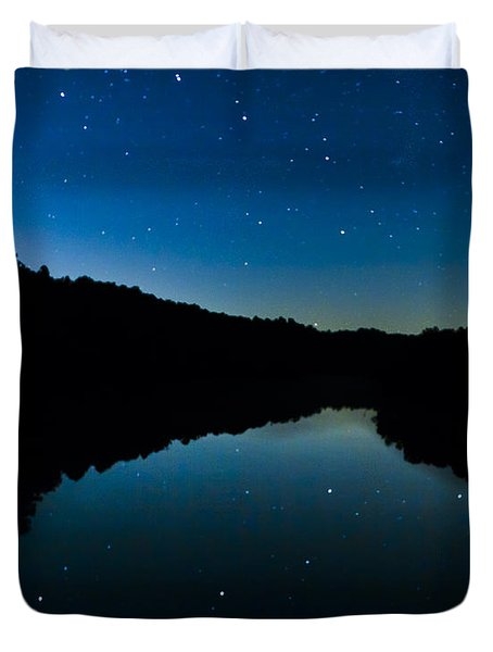 Big Dipper Reflection Duvet Cover