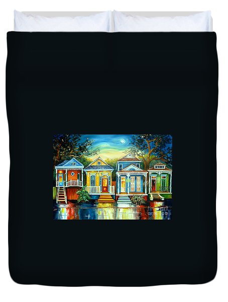 Big Easy Moon Duvet Cover