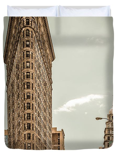 Big In The Big Apple Duvet Cover by Hannes Cmarits
