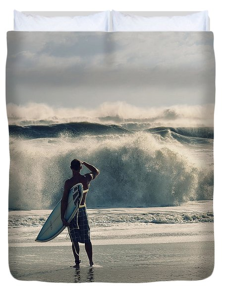 Big Kahuna Duvet Cover by Laura Fasulo