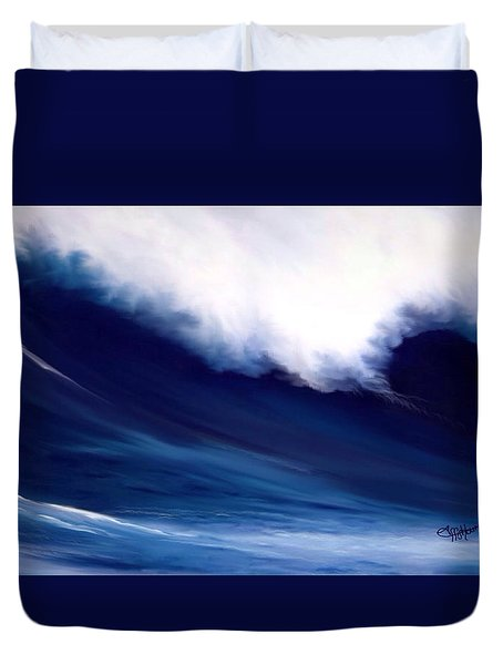 Big Kahuna 2 Duvet Cover by Anthony Fishburne