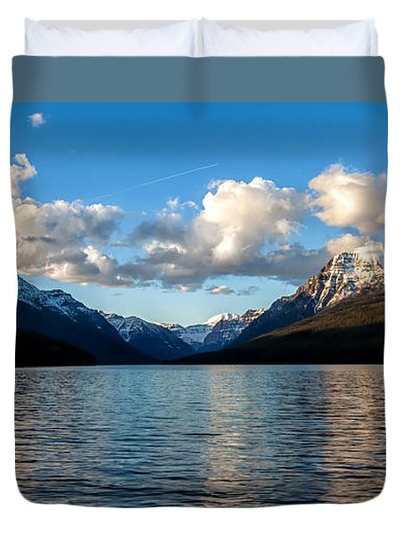 Duvet Cover featuring the photograph Big Sky by Aaron Aldrich