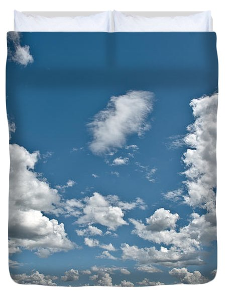 Big Sky Duvet Cover by Cheryl Baxter