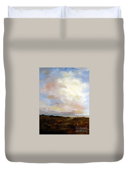 Big Sky Country Duvet Cover by Lee Piper