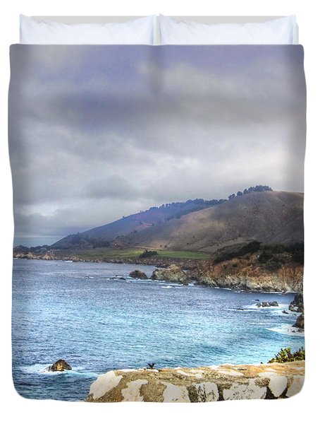 Big Sur Duvet Cover by Kandy Hurley