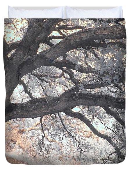 Big Sur Oak Duvet Cover