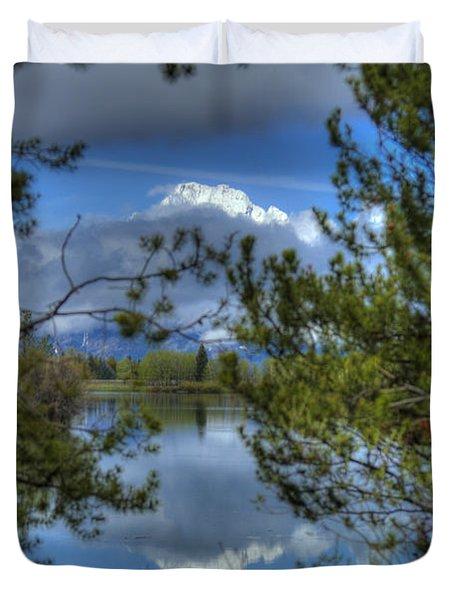 Big Teton Duvet Cover