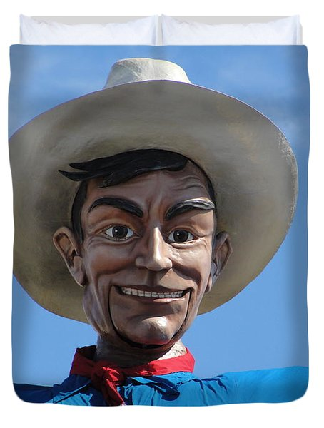 Big Tex Duvet Cover